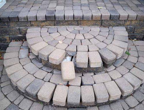 Mistakes of the Trade-Brick Paver Patio and Brick Paver/Stone Steps